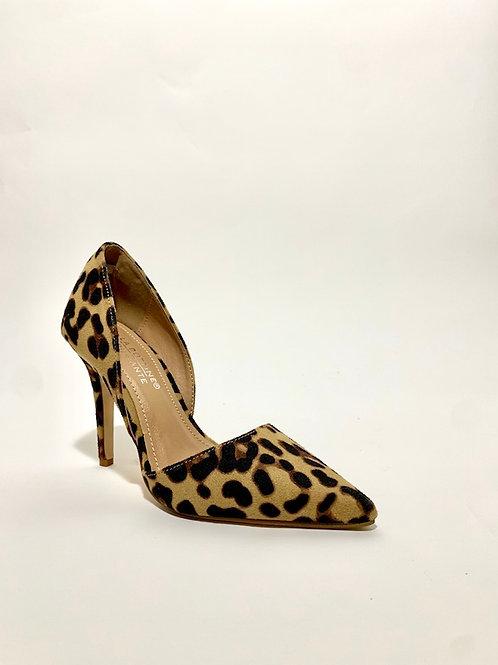 escarpins léopard talons aiguilles chaussures femme eldorada