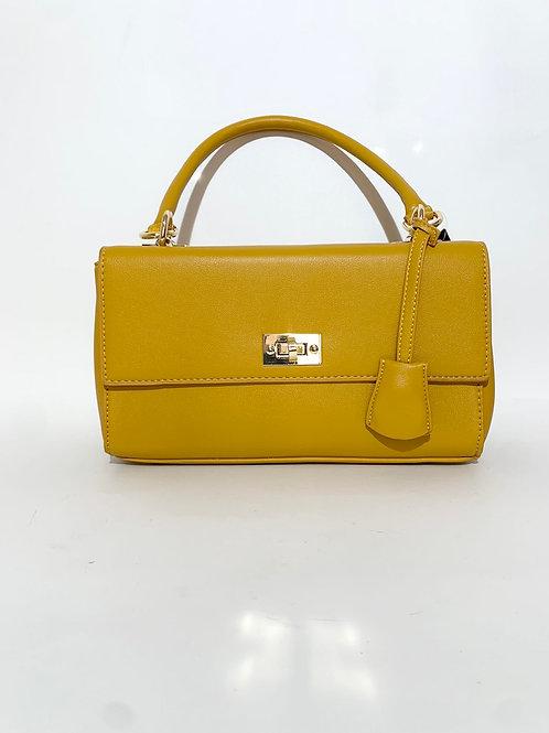 sac à main jaune femme
