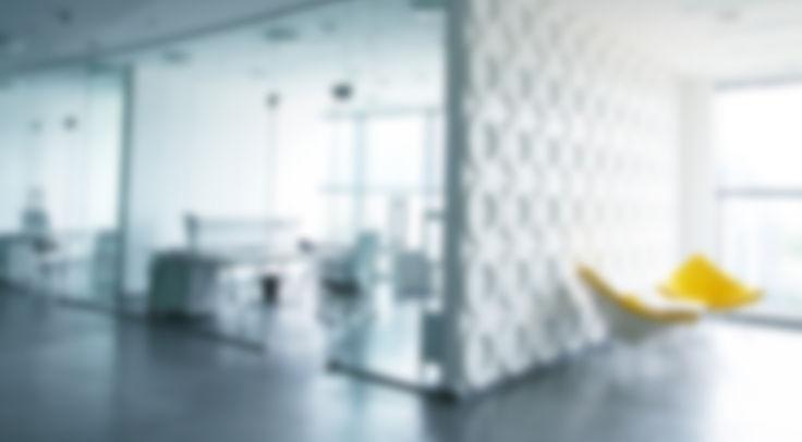 Blurred Office Interior