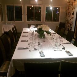 Mise de table
