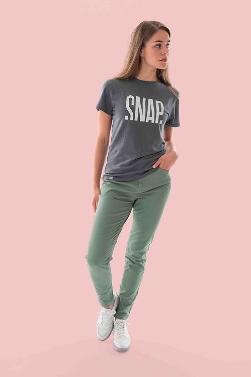Snap W Merino T-Shirt