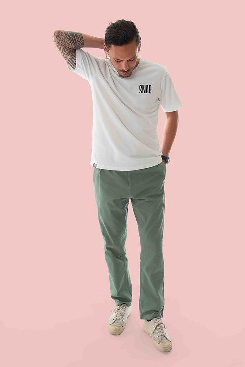 Snap Wide Pants Hosen