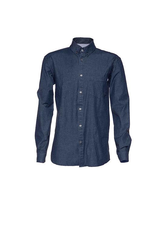 Snap Jeanshirt Hemd
