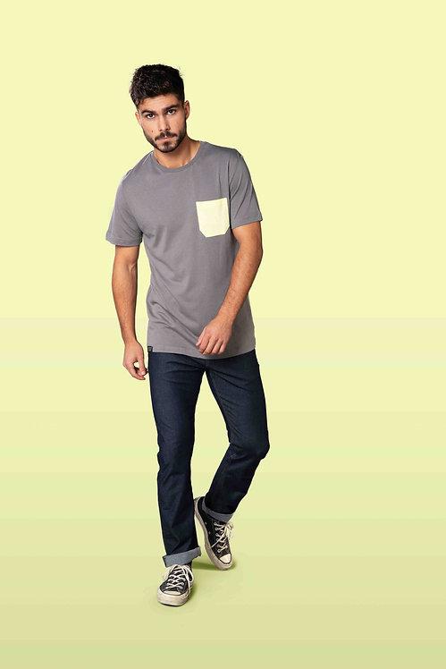 Snap Pocket T-Shirt Monochrome