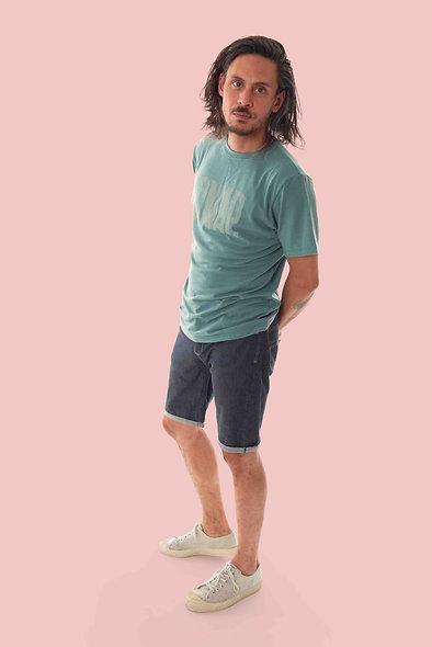 Snap Slim Jean Shorts