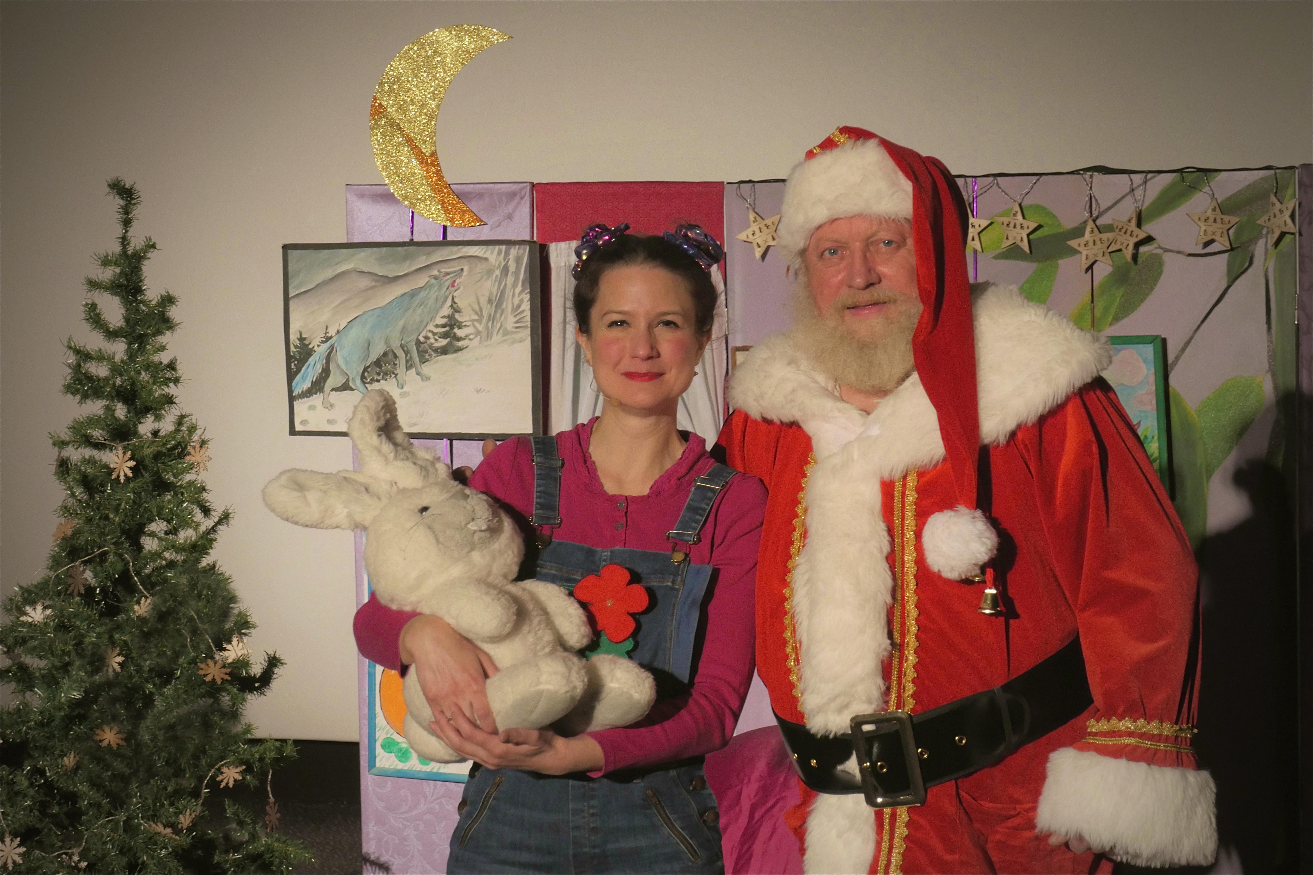 Capucine, Filou et le Père-Noël