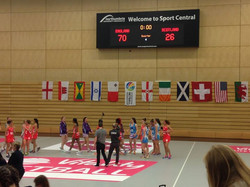 Netball Europe - England a different class !
