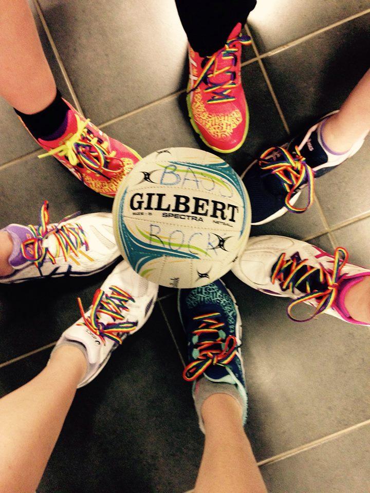 netball feet