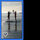 paddle board netball