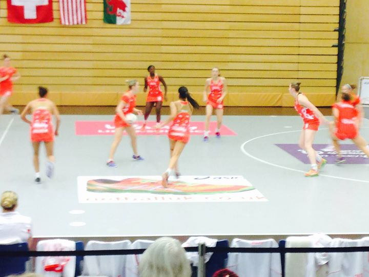 Netball Europe - England a different class !
