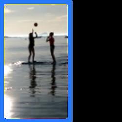 paddle board netball 2