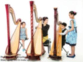 Ensemble Harp Lesson