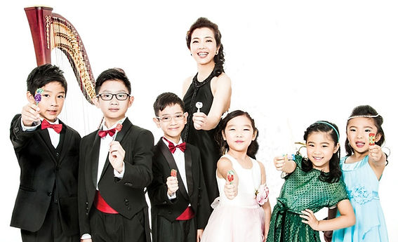 Voice Of The Harp Limited - Harp Students