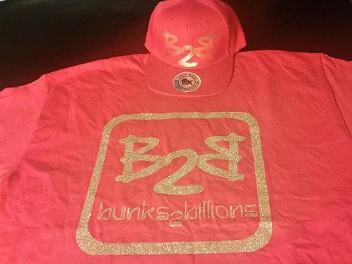 B2B Glitter Logo T-Shirt - Plus Size