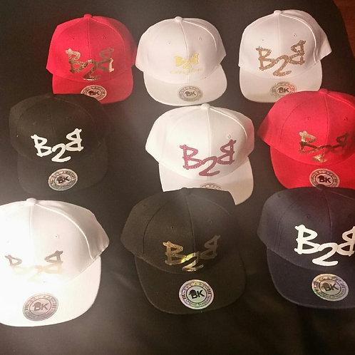 """""""B2B"""" Foil Snapback Hat"""