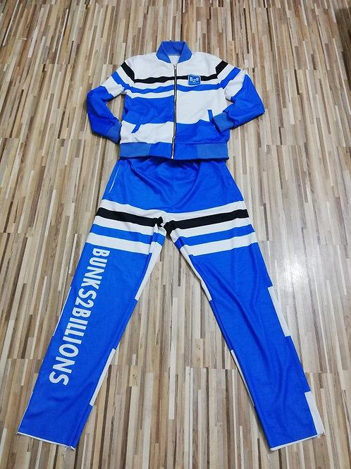 Billionaire Track Suit Blue/Black-PLUS