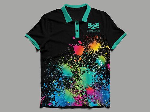 Splatter Polo Shirts