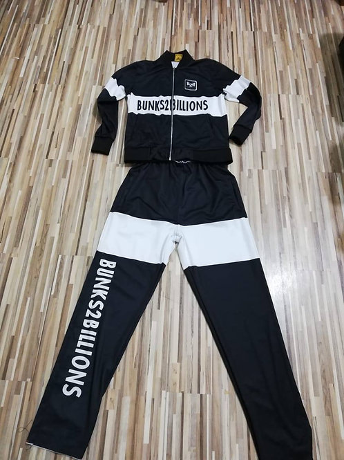 Billionaire Track Suit Black/White