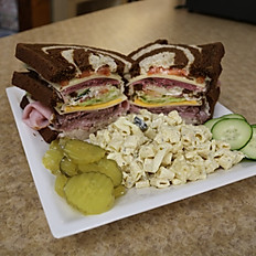 Ebner's Meatloaf Sandwich