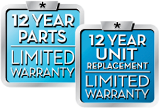 12 Year Parts and 12 Year Unit Replaceme
