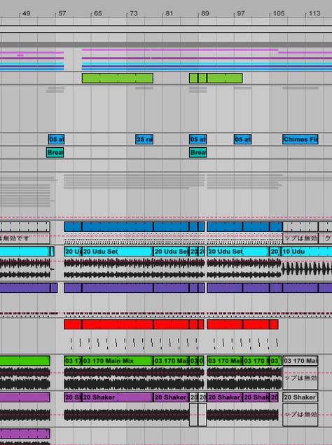 Ableton Liveでアレンジメントビューのグリッドずれを修正する