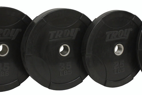 "Troy BO-SBP Olympic 2"" Solid Bumper Plates"