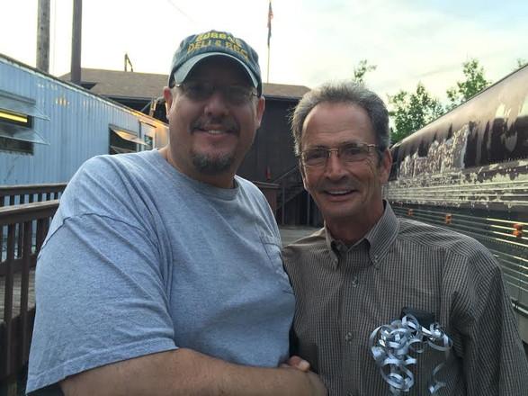 Randy and Marty Haggard