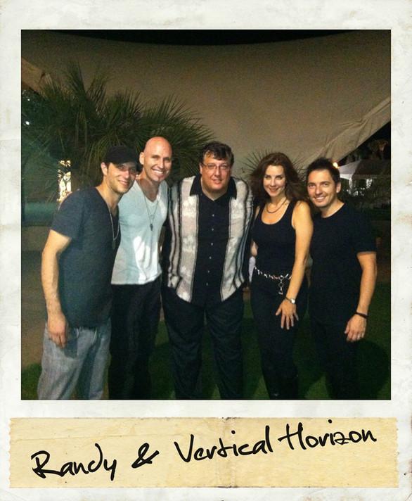 Vertical Horizon and Randy