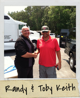 Randy and Toby Keith