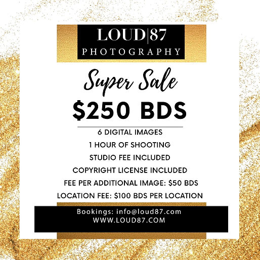 LOUD 87 photography super sale