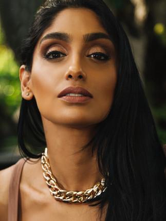 Saadiya Nakhuda - August 2018 - Nude Top