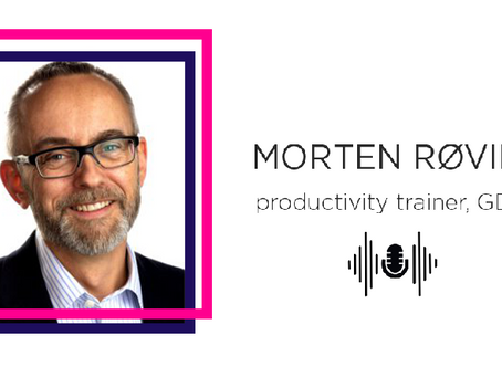 About productivity, well-being and Getting Things Done: a talk with Morten Røvik