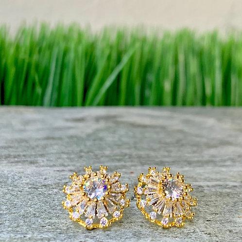 Elegant Diamond Stud
