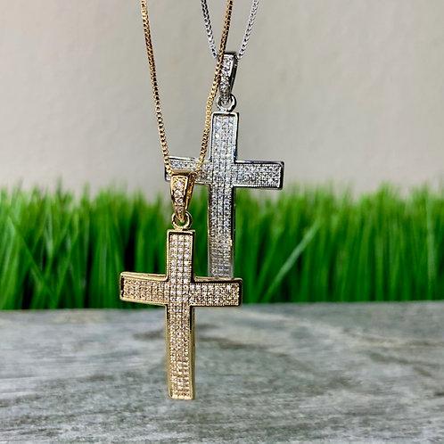Cross Pendant Chain
