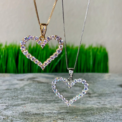 Heart Pendant Chain