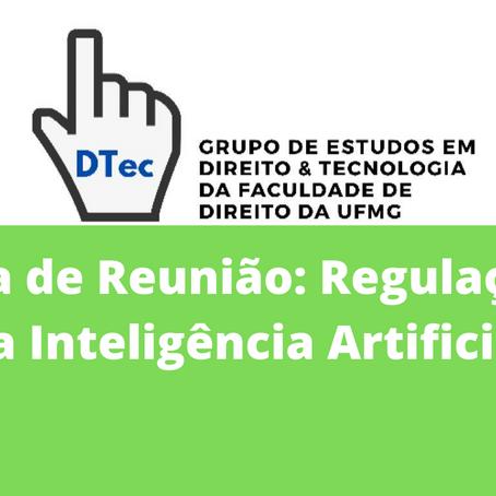 Ata DTEC: Regulação da Inteligência Artificial