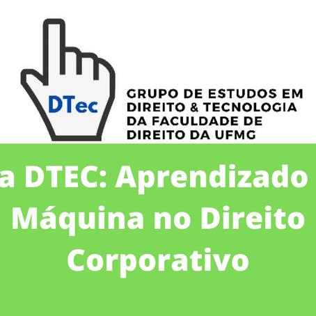 Ata DTEC: Aprendizado de Máquina no Direito Corporativo