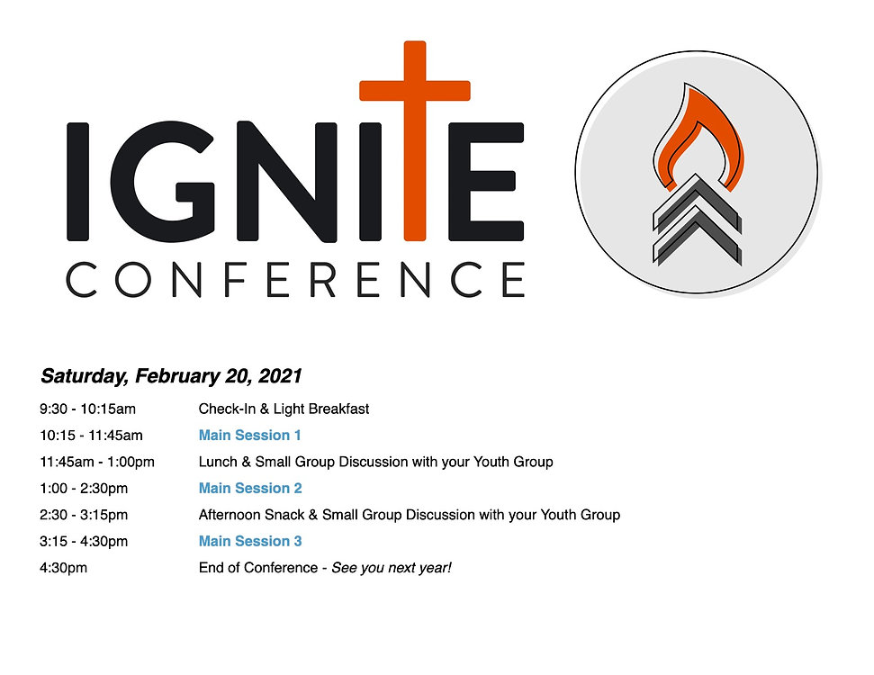 Ignite Conference 2021 Schedule - REVISE