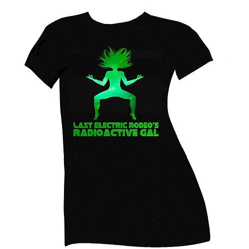 Radioactive Gal T-Shirt-Womens