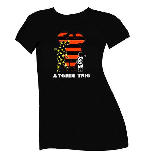 Atomic Trio T-Shirt-Womens