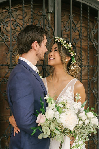 miami wedding, thalatta wedding, miami wedding inspiration, flower crown inspiration, bridal bouquet, greenery wedding, weddings, miami day of coordinator