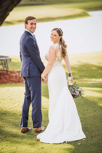 grande oaks weddig, day of coordination, day of coordinator near me, bride and groom, custom wedding suit, navy wedding suit, golf course wedding inspiration
