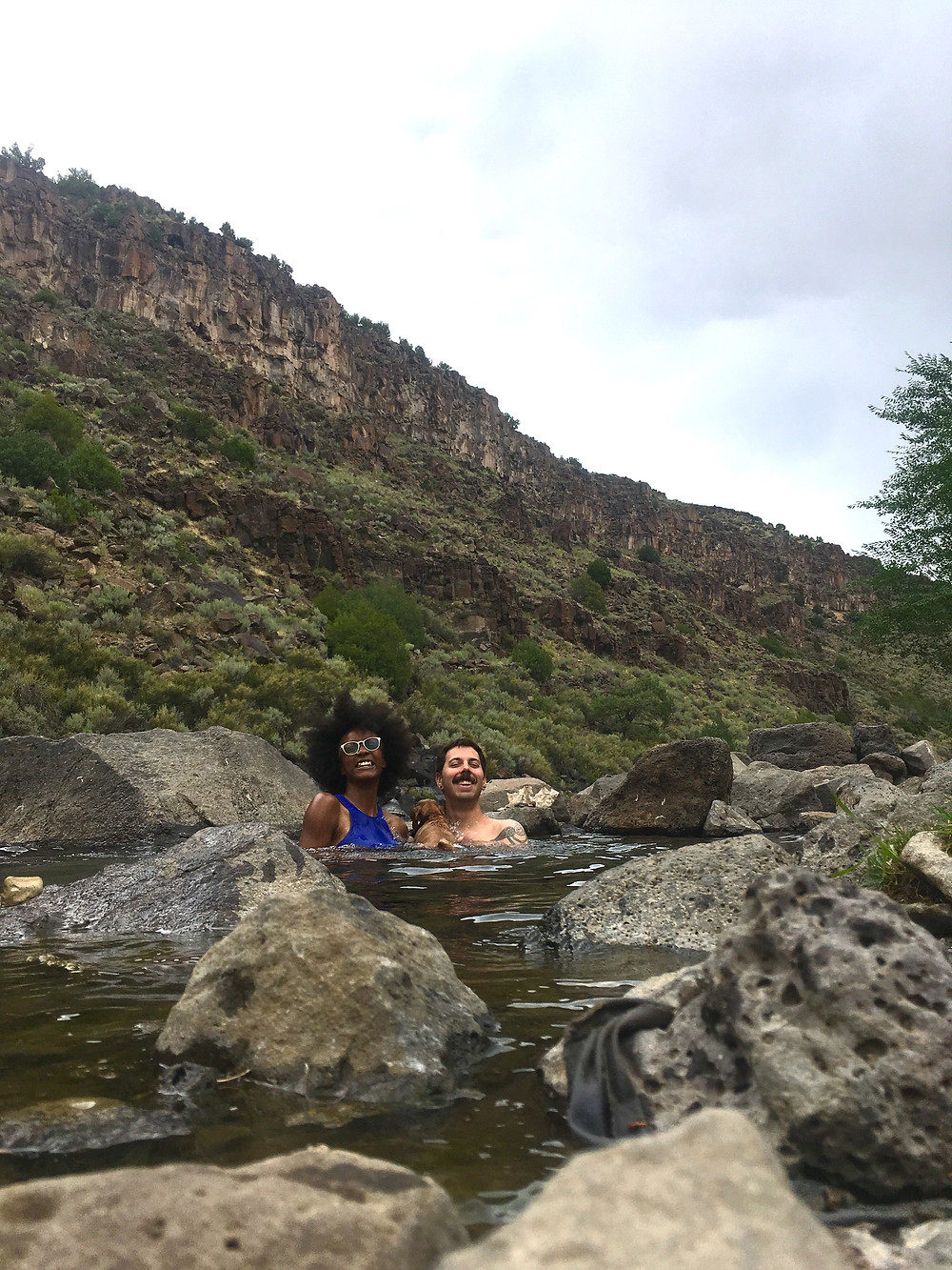 found our favorite natural hot springs in Taos
