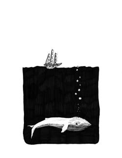 Big Whale Tiny Boat