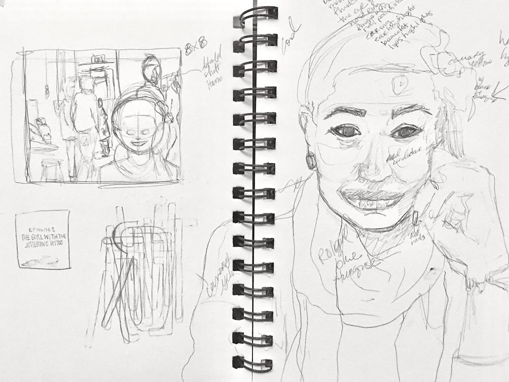 Thumbnail sketchs