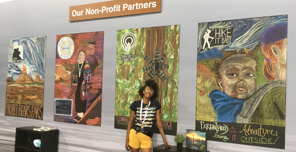 Craghoppers Non-Profit Booth at Outdoor Retailer Summer Market