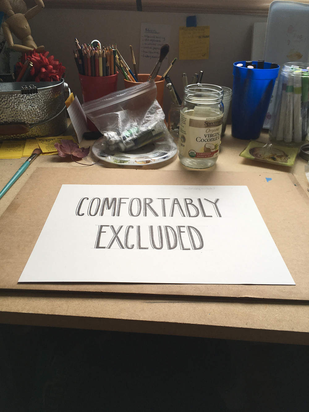 Hand written font for the title