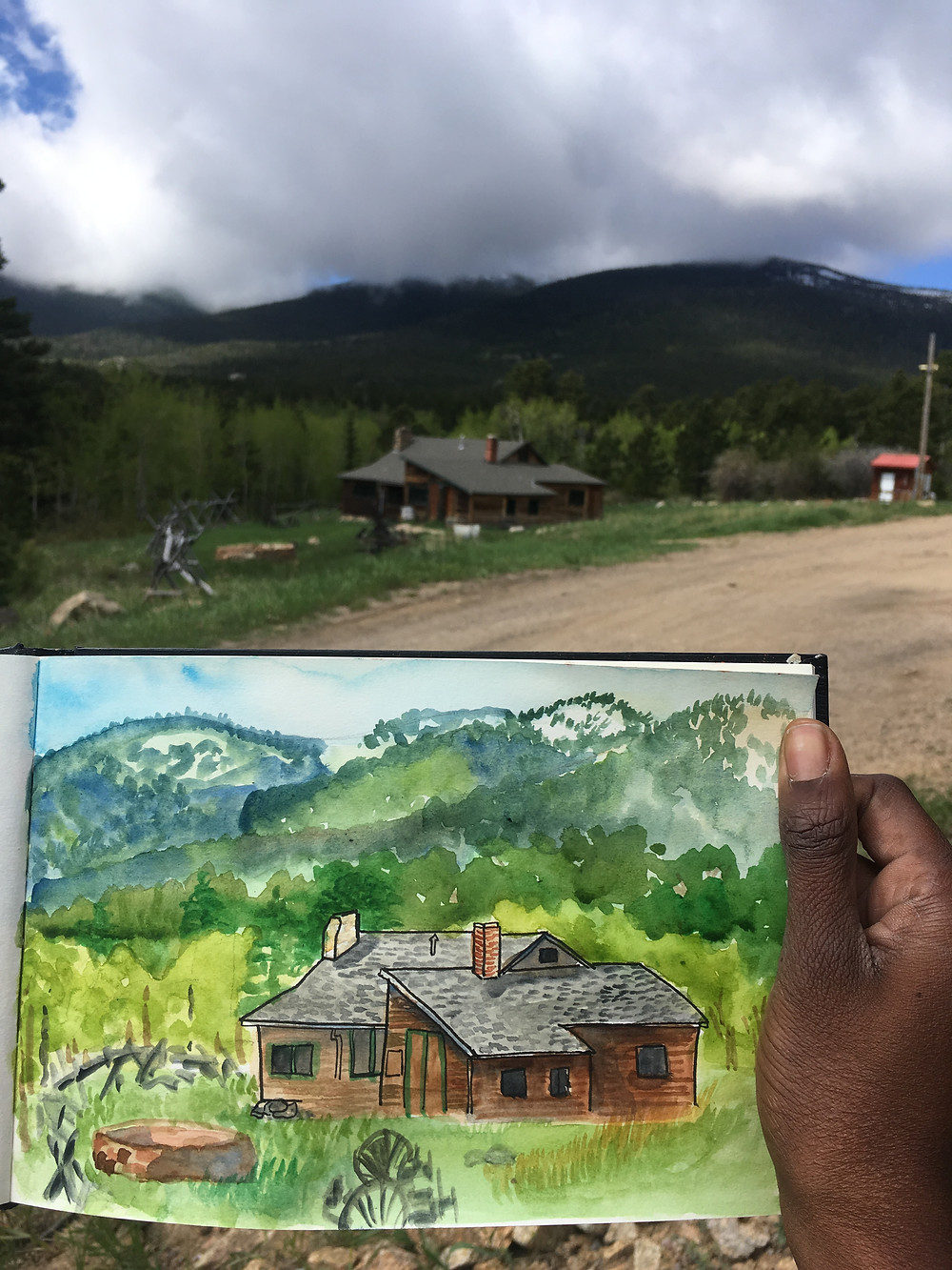 painted beautiful places