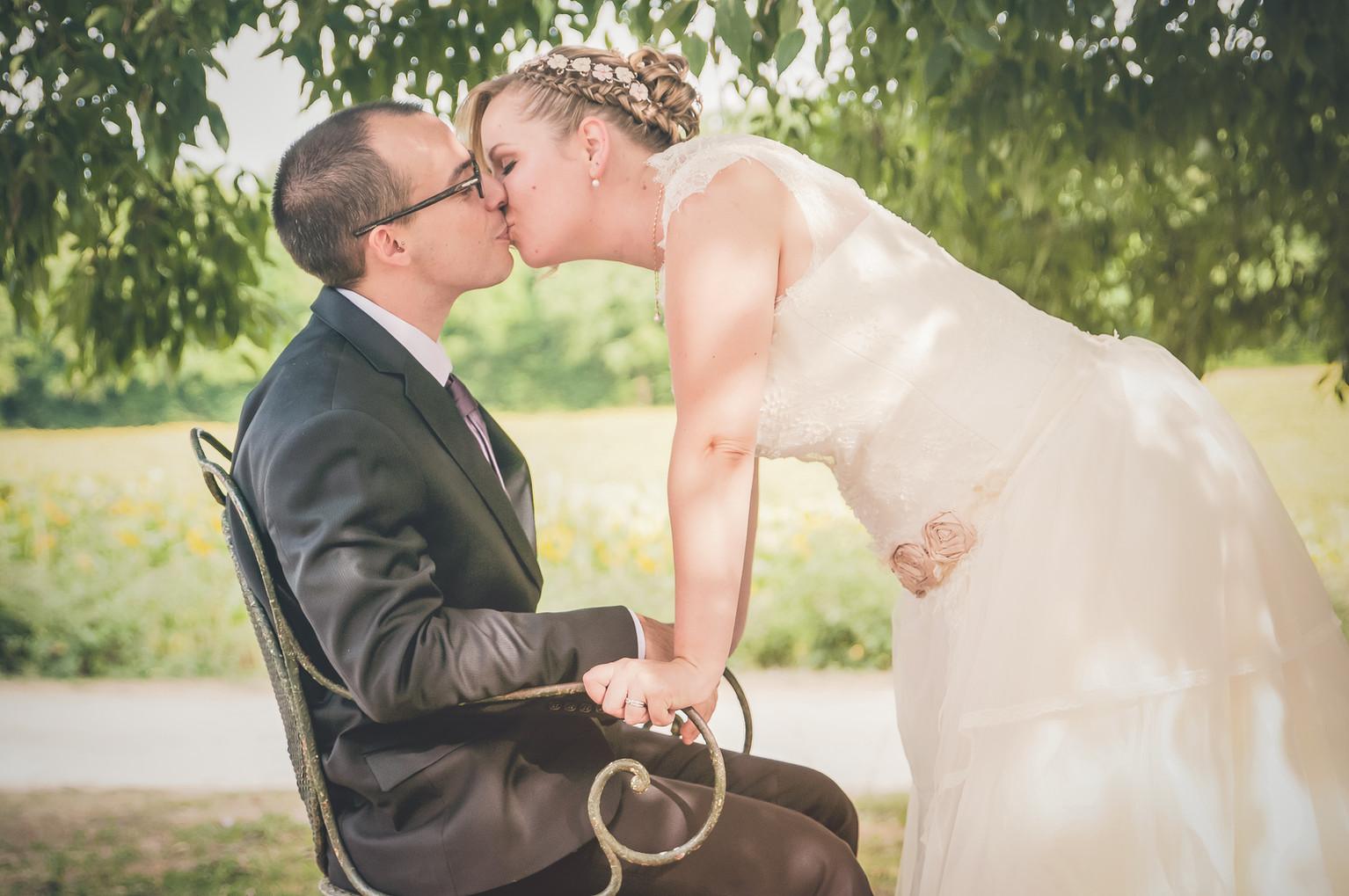 séance couple day After mariage au Logis de Bournet