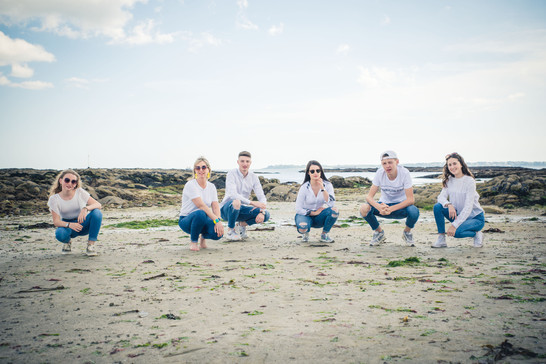 séance famille à larmor-plage, bretagne